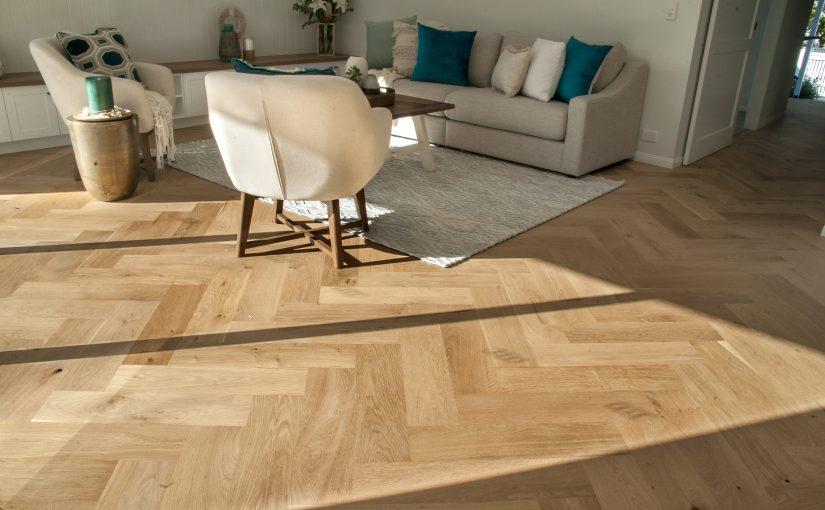 Stunning Herringbone Oak